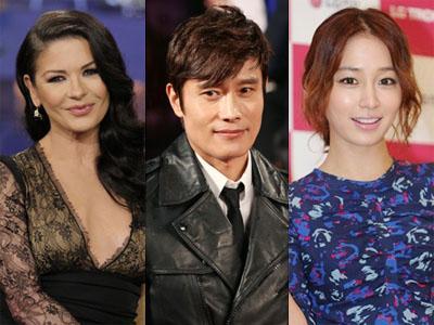 Mana yang Dipilih Lee Byung Hun, Catherine-Zeta Jones atau Lee Min Jung?