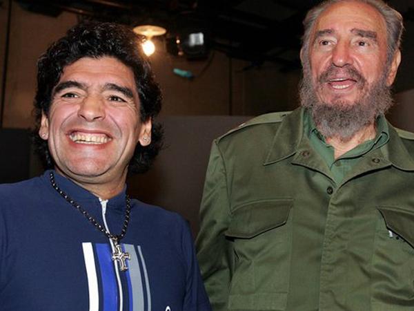 Meski Dihujat, Mendiang Fidel Castro Jadi 'Obat' Kecanduan Narkoba Legenda Maradona?