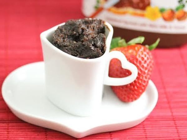 Siapapun Bisa Bikin Nutella Mug Cake Ini Hanya dalam Waktu 5 Menit!