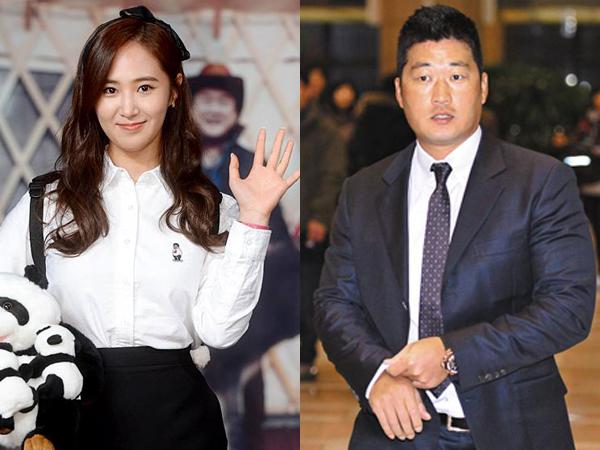 Foto-foto Kencan Yuri SNSD dan Atlet Baseball Oh Seung Hwan
