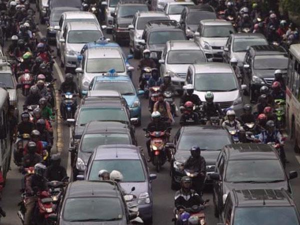Jumlah Mengejutkan Populasi Motor di Jakarta yang Disebut Jadi 'Biang' Polusi Udara