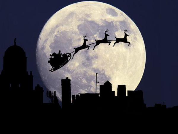 Setelah 38 Tahun, Bulan Purnama Akan Muncul Tepat di Hari Natal Tahun Ini
