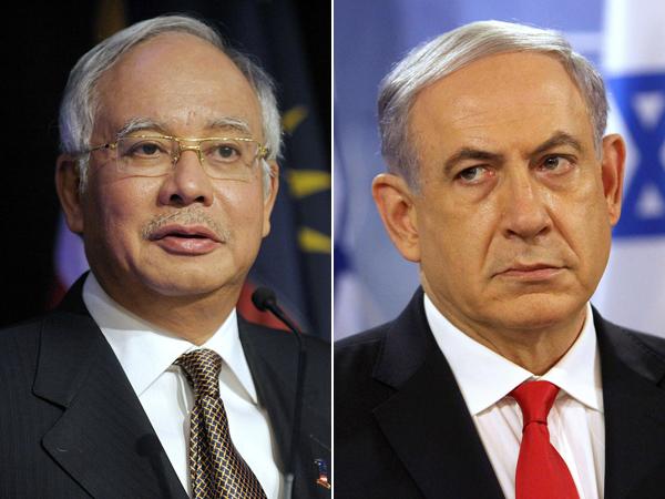 Berfoto dengan PM Israel, PM Nazib Razak Malah Dihujat Warga Malaysia