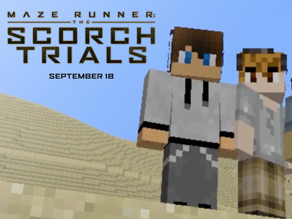 Lucunya Trailer 'Maze Runner 2' Versi Minecraft Ini!