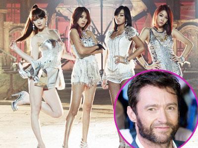 Sistar Ajari Hugh Jackman Menari Tarian Mereka di Star King