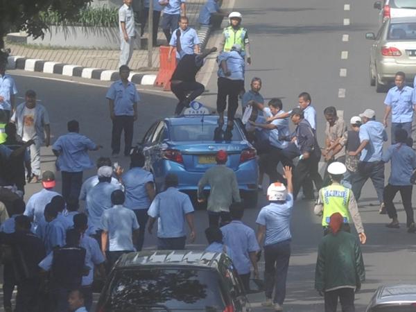 Dishub DKI Jakarta Minta 34 Perusahaan Taksi Pecat Sopir yang Terbukti Anarkis