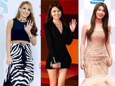10 Gaya Terbaik Seleb Korea di Karpet Merah Selama 2013