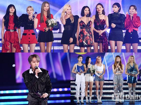 Didominasi TWICE, Inilah Pemenang Soribada Best K-Music Awards 2019 Hari Pertama
