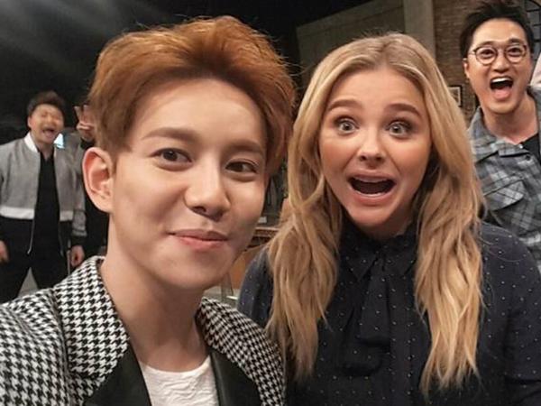 Gombalnya Park Kyung Block B Buat Chloe Moretz Terkesan di 'Problematic Men'