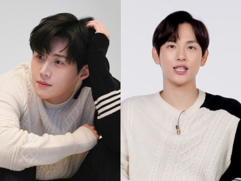 Sweater Kembar Kim Seon Ho dan Im Siwan, Who Wore It Better?