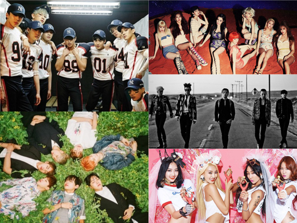 Lagu-lagu K-Pop Ini Jadi yang Terfavorit di 2015 Berdasarkan Kelompok Umur Pendengar