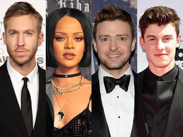 Hits, Inilah Lagu Popstar Barat yang Paling 'Laku' di Spotify Tahun 2016