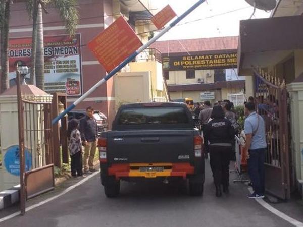 [UPDATE] Konfirmasi Polisi dan Berapa Korban di Bom Bunuh Diri Polrestabes Medan