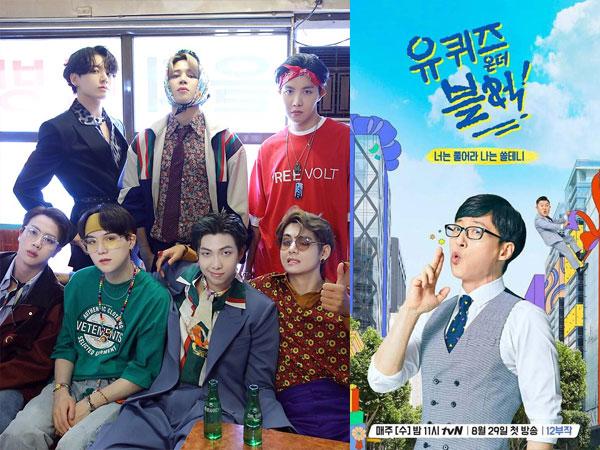 BTS Akan Tampil dalam Episode Spesial 'Yoo Quiz on the Block'