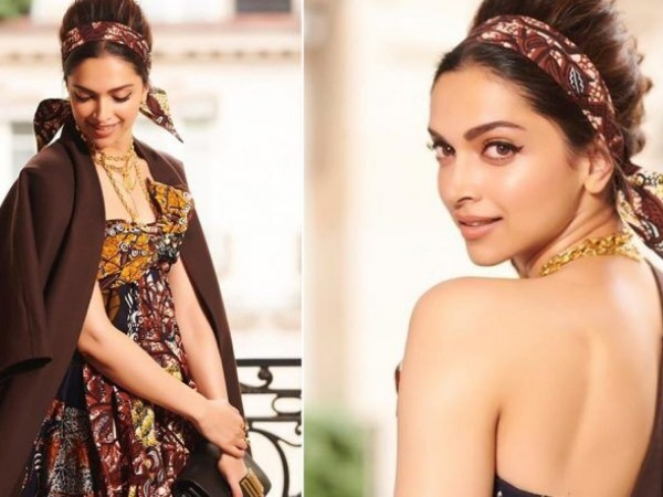Aktris India Deepika Padukone Kenakan Batik di Paris Fashion Week