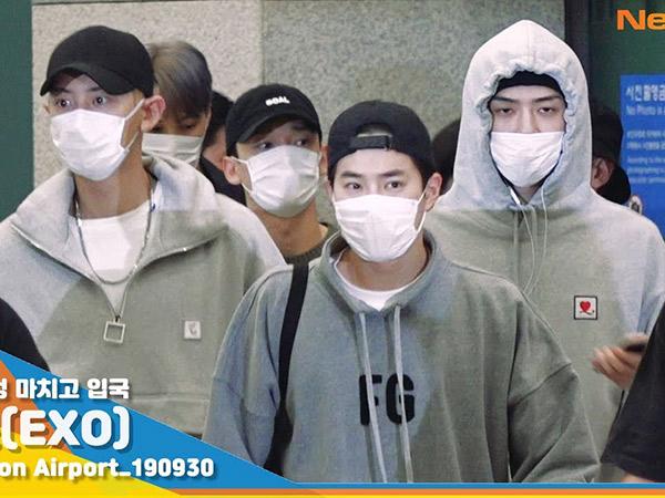 Member EXO Sentil Kebiasaan Buruk Penggemar di Bandara