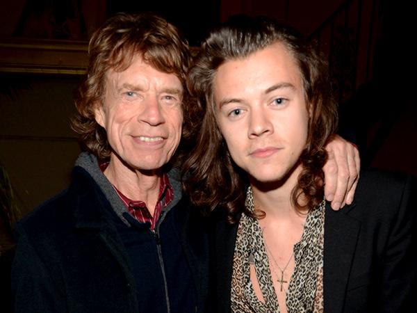 Nonton Konser The Rolling Stones, Harry Styles Asyik Nongkrong Bareng Mick Jagger