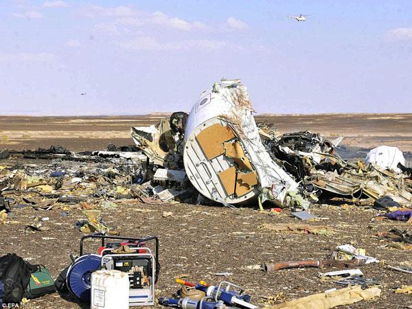 ISIS Klaim Jatuhkan Pesawat Rusia di Mesir, Tewaskan 224 Orang