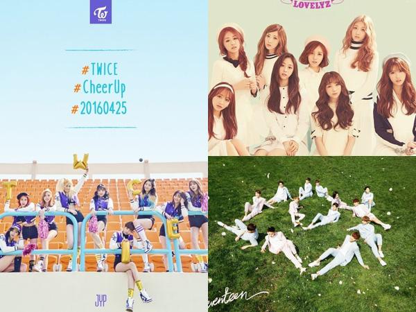 Makin Seru, Tiga Grup Idola K-Pop Rookie Ini akan Comeback di Tanggal yang Sama!