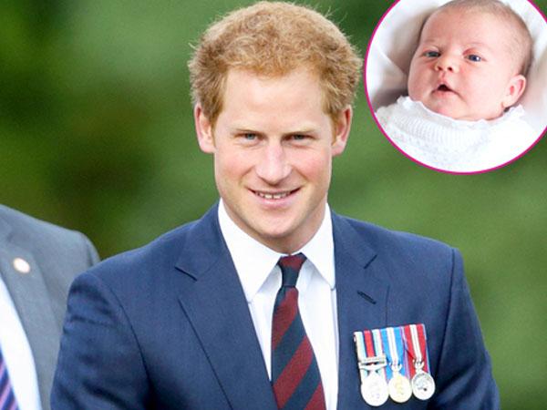 Pangeran Harry Sebut Dirinya Paman yang Buruk untuk Putri Charlotte