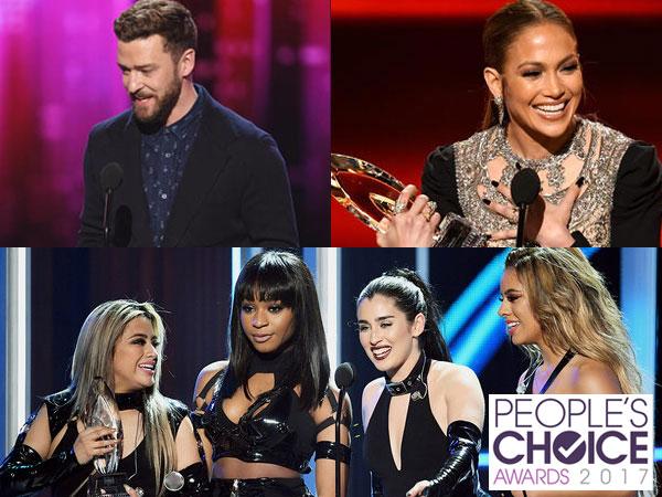 Daftar Lengkap Pemenang Kategori Musik di 'People's Choice Awards 2017'