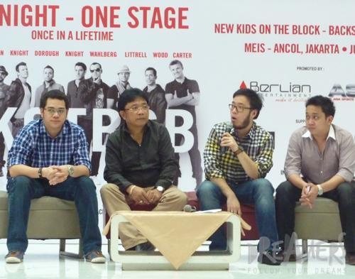 NKOTBSB Bakal Konser  Di Jakarta