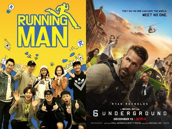 Running Man Pastikan Ryan Reynolds dan Pemain '6 Underground' Jadi Bintang Tamu Spesial