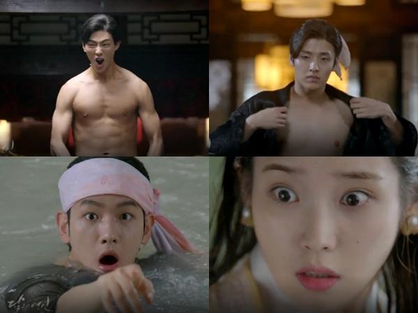 Pamer Otot Hingga Saling Goda, Hiasi Teaser Terbaru Drama 'Scarlet Heart'