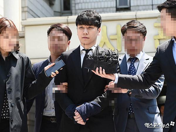 Foto-foto Seungri Digiring ke Sel Penjara Pengadilan dengan Tangan Diborgol