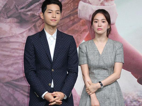 Song Joong Ki dan Song Hye Kyo 'Diganggu' Paparazzi Saat Berada di Hong Kong!