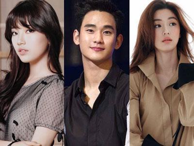Kim Soo Hyun, Jun Ji Hyun &Suzy miss A Terlihat Syuting Bersama