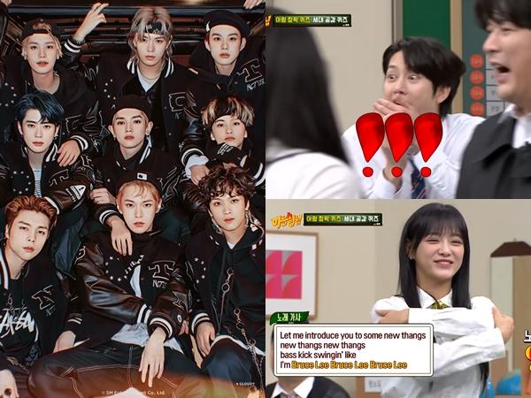 Kalah dari Sejeong gugudan, Heechul Super Junior Ketahuan Lupa Lagu NCT