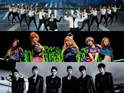 Ini Dia 10 MV K-Pop dengan Jumlah Viewers Terbanyak di Semester Awal 2013
