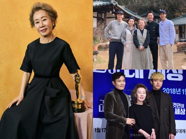 Youn Yuh Jung Banjir Ucapan Selamat dari Para Artis Junior