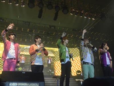 B1A4 Sukses Manjakan Fans dalam Showcase di Jakarta