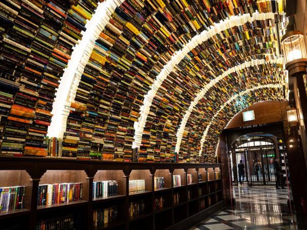 Berkunjung ke Perpustakaan Unik nan Instagramable, Arc N Book