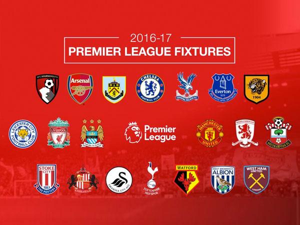 Deretan Desain Jersey Klub Inggris Terbaik Untuk Barclays Premier League 2016 / 2017