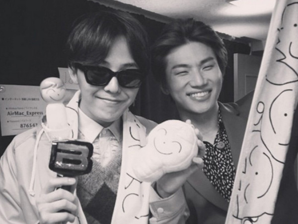 G-Dragon Tunjukkan Dukungan untuk Konser Solo Daesung di Jepang
