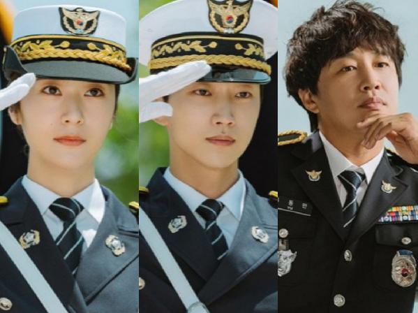 Potret Krystal, Jinyoung B1A4, dan Cha Tae Hyun Jadi Polisi di Drama 'Police Academy'