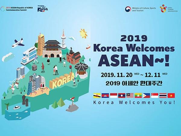 Sambut Turis Indonesia, Banyak Diskon di ASEAN Welcome Week 2019 Korea Selatan Akhir Tahun Ini