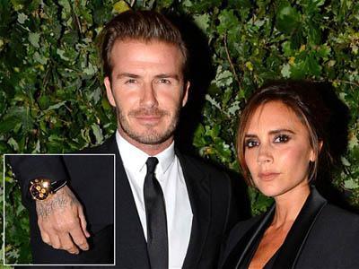 Beckham Kembali Tunjukan Cintanya pada Victoria dengan Tato