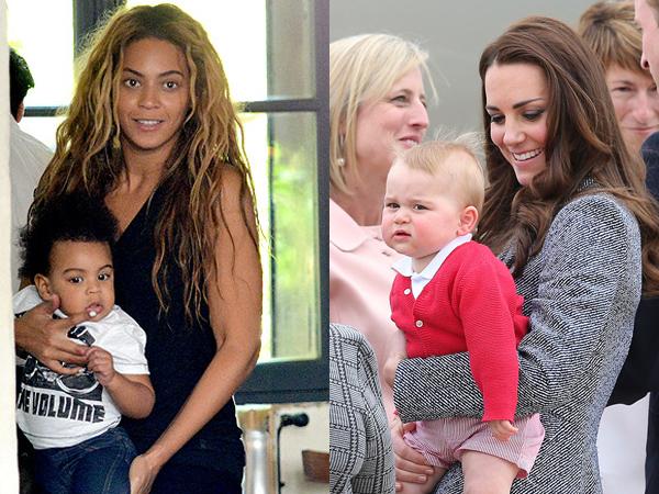 Beyonce Atur Pertemuan Untuk Blue Ivy dan Pangeran George di Inggris