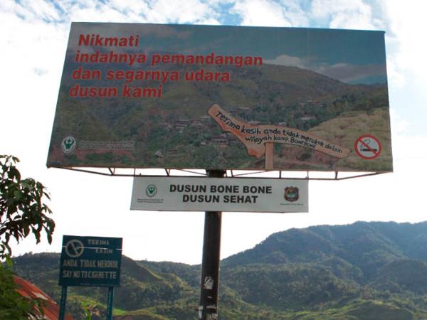 Berwisata Sehat Di Desa Bone-Bone, Wilayah Bebas Asap Rokok Pertama Di Indonesia