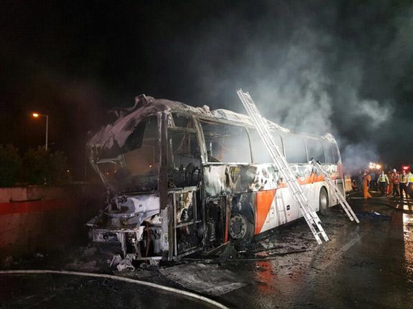 Bus Pariwisata di Korea Selatan Terbakar, Tewaskan 10 Penumpang