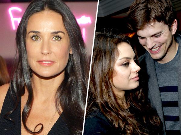 Demi Moore Tawari Bantuan Pada Ashton Kutcher dan Mila Kunis Dalam Merawat Bayi