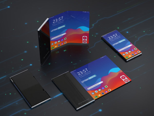 LG Siap Rilis Ponsel dengan Layar Gulung