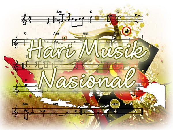 Sst, Ternyata 9 Maret Adalah Hari Musik Nasional!