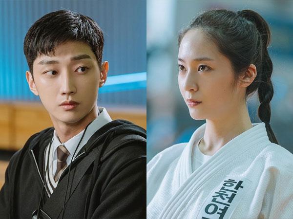 Situasi Canggung Jinyoung dan Krystal di Bocoran Episode Pertama 'Police University'