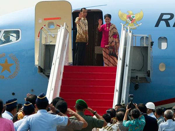 Tiba di Amerika, Presiden Jokowi Tidak Disambut Obama di Bandara
