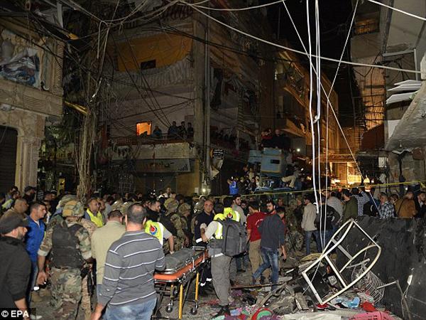 Kawasan Pengungsi Palestina di Libanon Dibom ISIS, 43 Orang Tewas